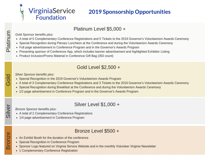 Virginia Service Foundation Sponsorship Opportunities2017 Virginia Volunteerism and Service Conference.jpg